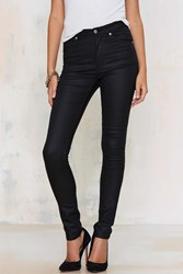 Cheap Monday Second Skin Jeans Coated Black
