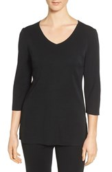 Ming Wang Women's V Neck Knit Tunic