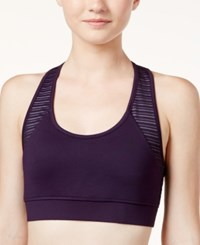 Jessica Simpson The Warm Up Juniors' High Impact T Back Sports Bra Only At Macy's Cozy Night