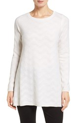 Nordstrom Women's Collection Zigzag Stitch Cashmere Sweater