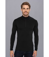 Arc'teryx Phase Sl Zip Neck L S Black Men's Long Sleeve Pullover