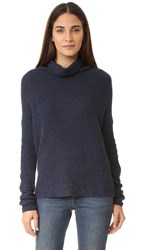 Joie Abri Cashmere Sweater Heather Navy