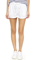 Bella Dahl Twill Tape Shorts White