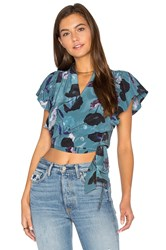 Sam And Lavi Cher Top Teal