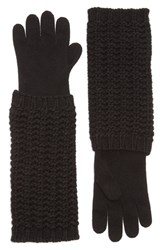 Moncler Women's Long Knit Gloves