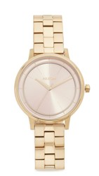 Nixon Kensington Watch Light Gold Pink