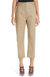 Adam By Adam Lippes Women's Crop Cotton Pants