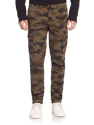 J Brand Castron Camouflage Printed Cargo Pants Jungle