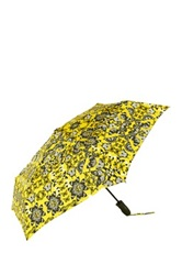 Shedrain Printed Folding Umbrella Yellow