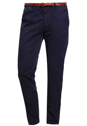 Scotch And Soda Chinos Denim Blue Blue Denim
