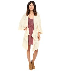 Rip Curl Lola Cardigan Natural Women's Sweater Beige