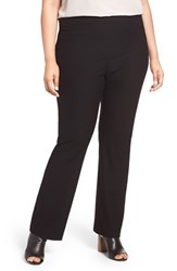 Eileen Fisher Plus Size Women's Washable Stretch Crepe Bootcut Pants