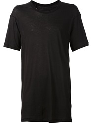 11 By Boris Bidjan Saberi Short Sleeve T Shirt Black