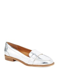 Enzo Angiolini Cinjin Loafers Silver
