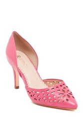 Restricted Jemma Lacer Cut Pump Pink