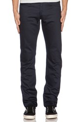 Unbranded Skinny 13 Oz. Selvedge Chino Navy