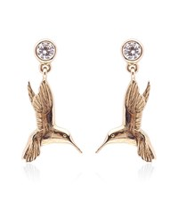 Theo Fennell Hummingbird Drop Earrings Female