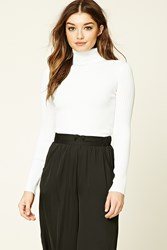 Forever 21 Ribbed Knit Turtleneck