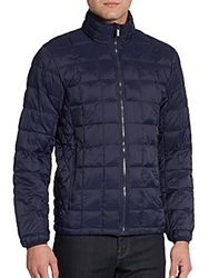 Rainforest Nylon Puffer Jacket Ink