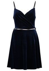 Miss Selfridge Summer Dress Navy Blue Dark Blue