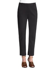 3.1 Phillip Lim Core Cropped Pencil Trousers Black