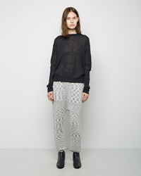 Lauren Manoogian Arch Pants White Black