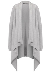 Ltb Moyesa Cardigan Grey Melange Mottled Grey