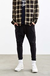 Urban Outfitters Uo Skinny Stacked Nepped Knit Pant Washed Black