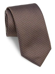Pal Zileri Honeycomb Silk Tie Gold