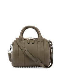 Alexander Wang Mini Rockie Matte Pebbled Duffel Bag Grass