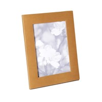 Graphic Image Tan Leather Frame 5'X7