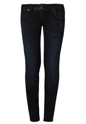 Ltb Molly Slim Fit Jeans Lorina Wash Dark Blue