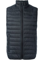 Armani Jeans Padded Gilet Grey