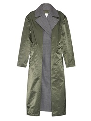 Toga Contrast Layer Belted Front Coat