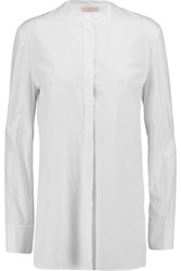 Tory Burch Cotton Poplin Shirt White
