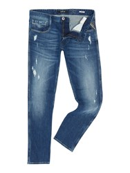Replay Anbass Slim Fit Jeans Blue
