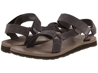 Teva Original Universal Leather Diamond Eiffel Tower Women's Sandals Gray