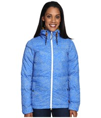 Kavu Sequoia Blue Topo Women's Clothing