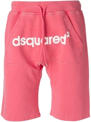 Dsquared2 Track Shorts Pink And Purple