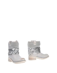 Cult Ankle Boots Light Grey