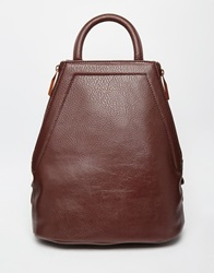 Matt And Nat Chanda Sleek Zipped Backpack Cocoa