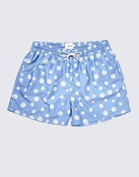 Farah Vintage Swim Shorts In Dot Print