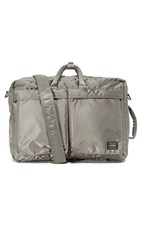 Porter Tanker 3 Way Briefcase Silver