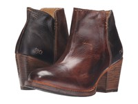 Bed Stu Yell Teak Black Rustic Rust Leather Women's Boots Brown