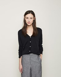 La Garconne Moderne Cardigan Top Faded Black