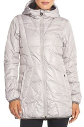 Lole 'Gisele' Water Resistant Quilted Jacket Gray