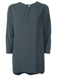 Gianluca Capannolo Relaxed Fit Blouse Grey