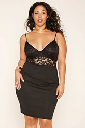 Forever 21 Plus Size Crochet Bodycon Dress