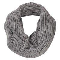 Damsel In A Dress Knitted Snood Charcoal