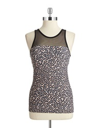 Solow Animal Print Cami Brown Leopard